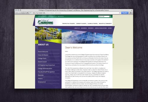 UH College of Engineering Website