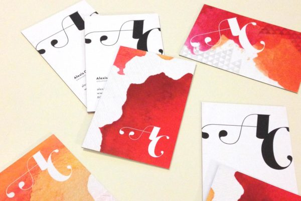 Alexis Claire Business Cards