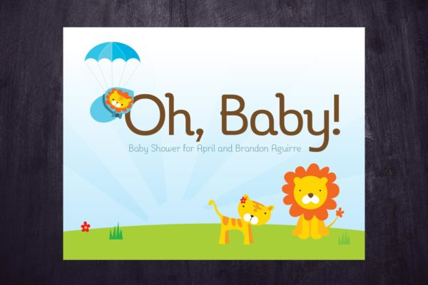 Oh, Baby! Invitations