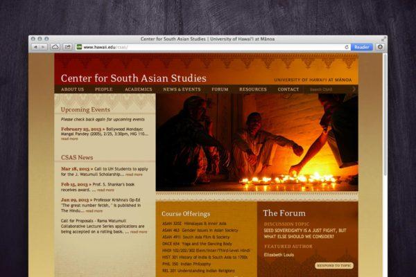 CSAS Website - Home