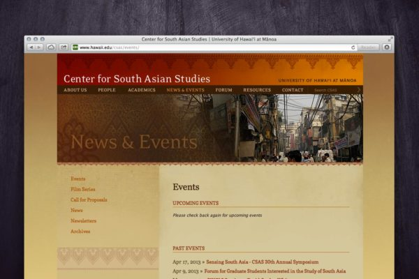 CSAS Website - News & Events