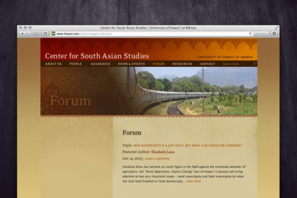 CSAS Website - Forum