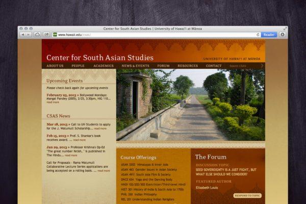 CSAS Website - Home 2