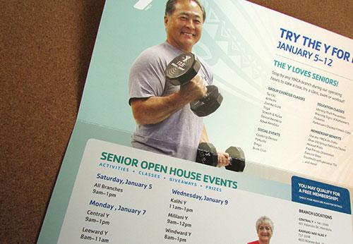 YMCA of Honolulu Mailers