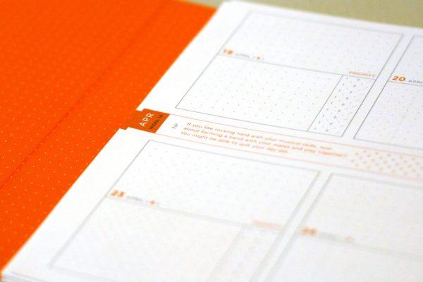 Bright Orange Lining