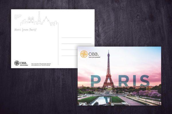 Internship Onsite Postcards