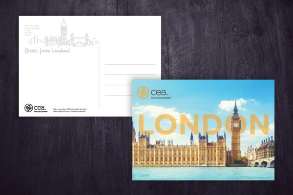 Internship Onsite Postcards