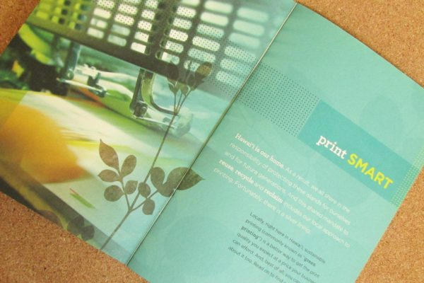 Print Green Brochure
